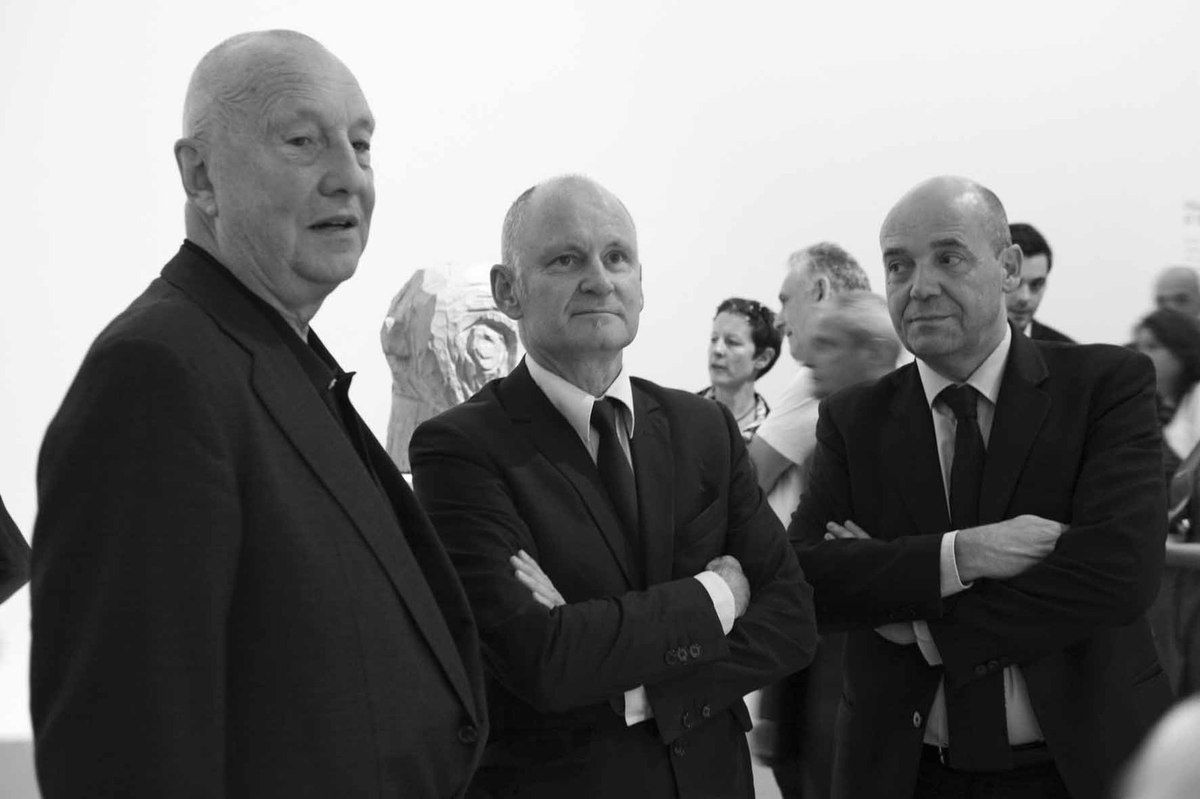 Geörg Baselitz, Christophe Girard, Fabrice Hergott