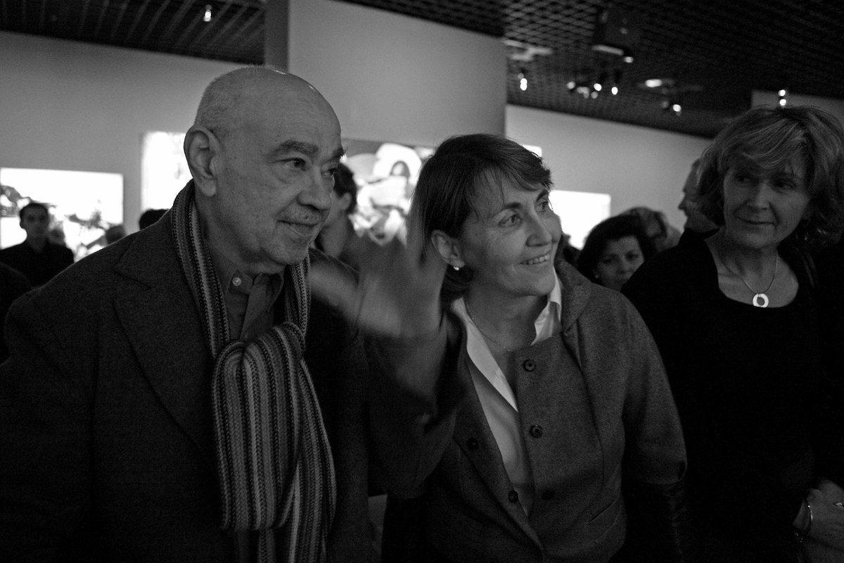 Hervé Télémaque, Christine Albanel, Bénédicte Ajac
