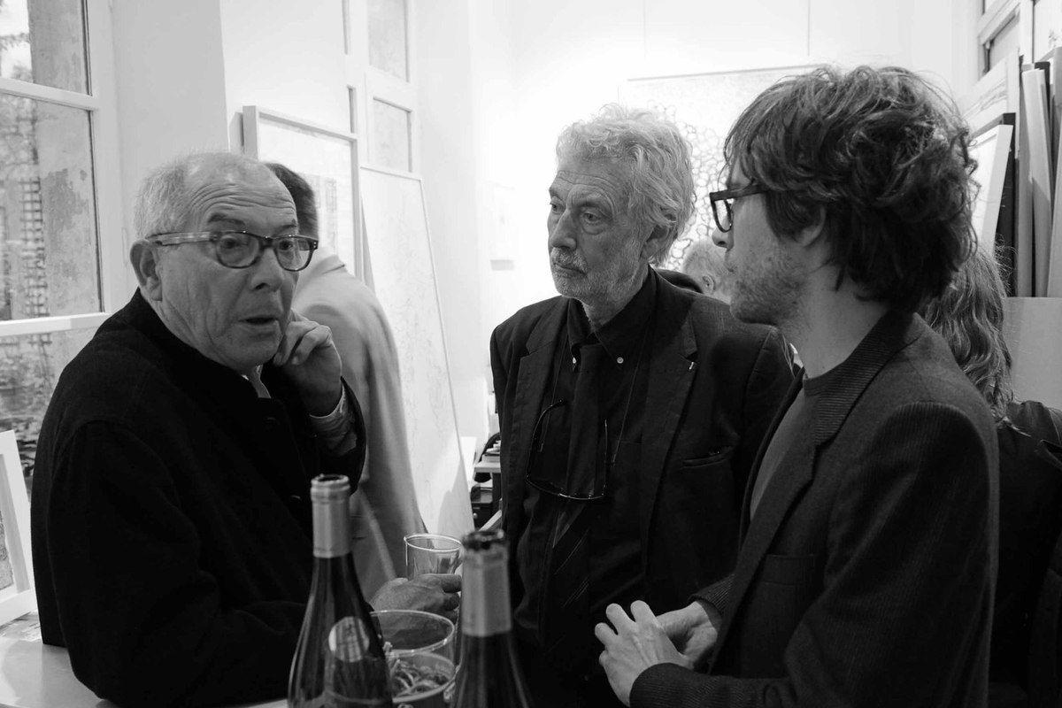 Vincent Bioulès, Pierre Buraglio, Arthur Aillaud