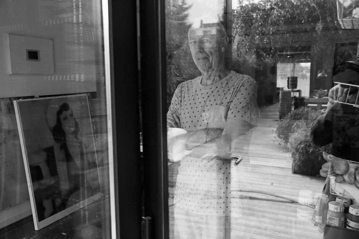 Rencontre de Albert Pepermans, chez lui à Kortenberg, en Belgique, le 7 juin 2014