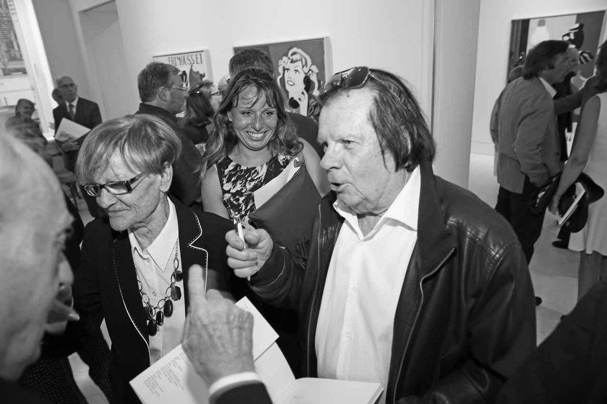 Eduardo Arroyo, Madame Stampfli, Peter Stampfli