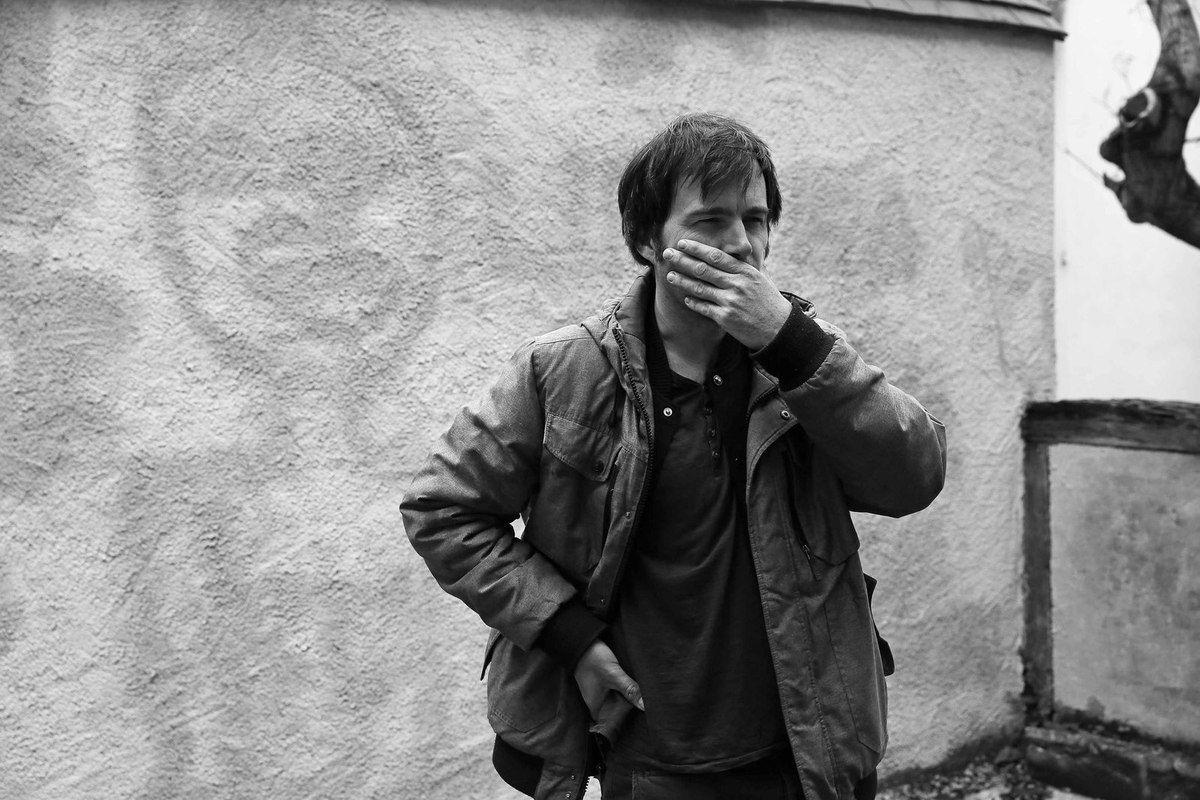 Christophe Boursault à Bourges, le 21 mai 2014