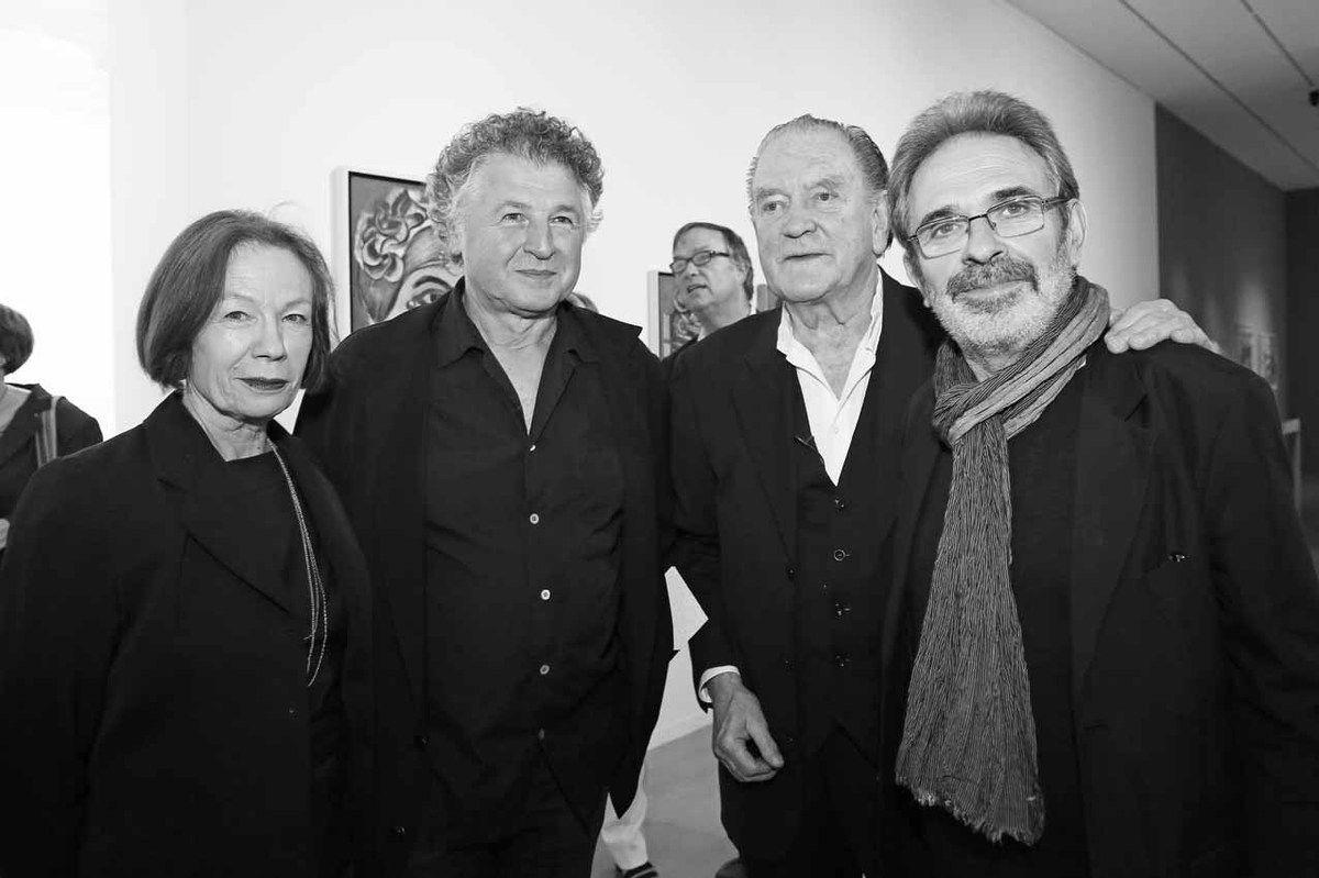 Martine Poli, Yvan Messac, Erro, Robert Bonaccorsi