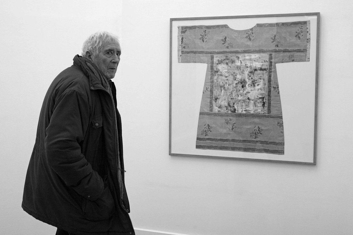 Exposition Louis Cane. Paris le 9 décembre 2010