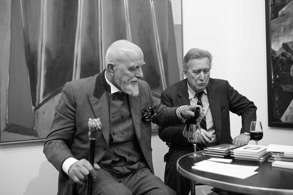 Markus Lüpertz, Michael Werner