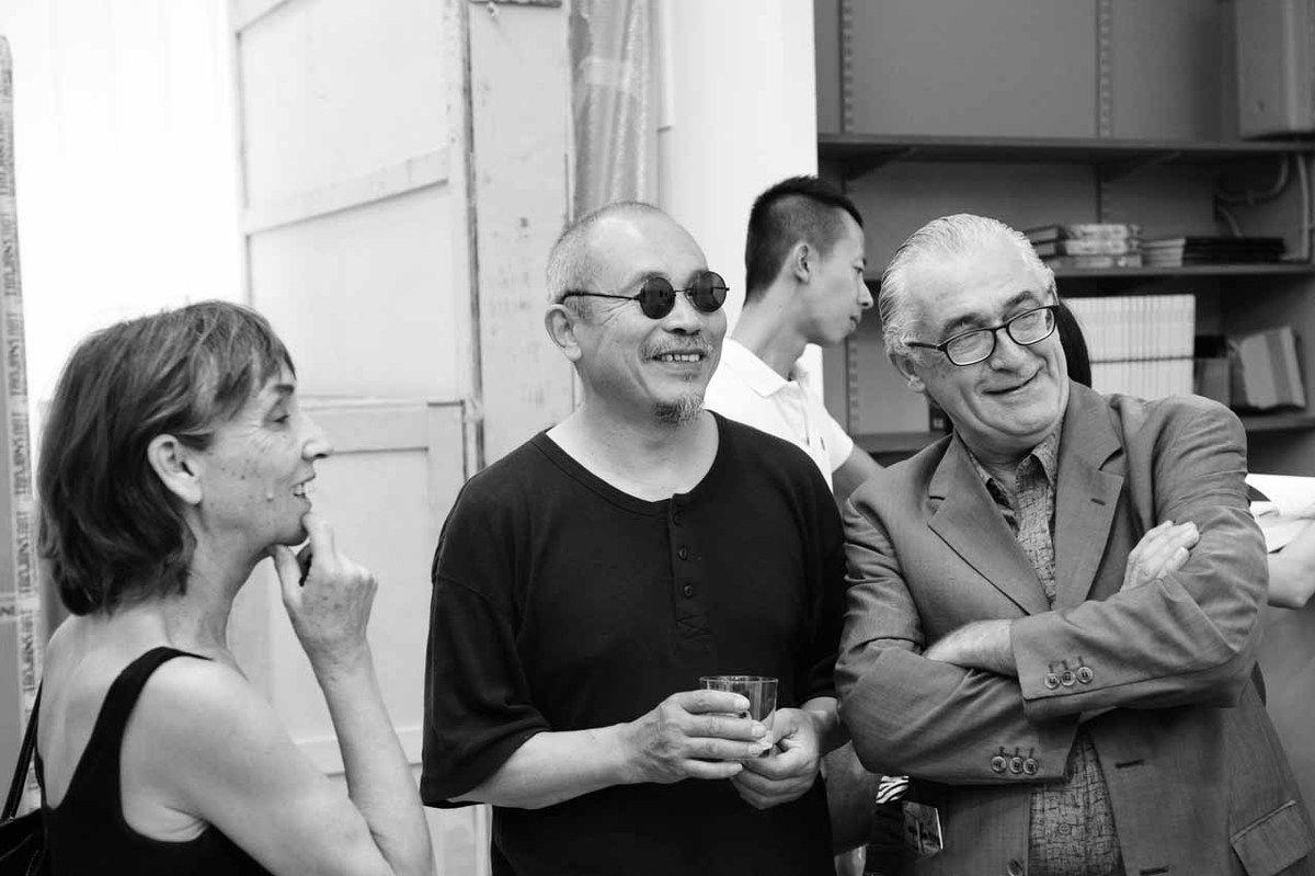 Gisèle Toulouzan, Wang Keping, Sylvain Lecombre