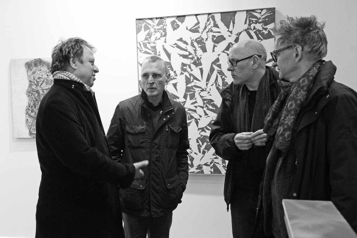 Philippe Richard, Gilgian Gelzer, Paul van der Eerden, Peter Soriano