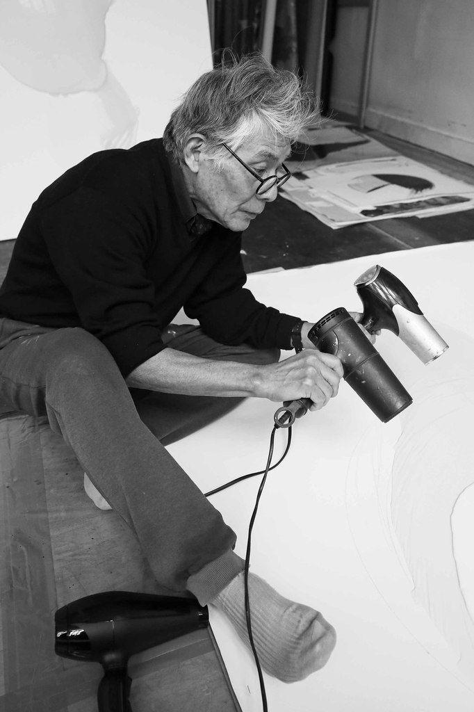 Visite de l'atelier de Matsutani Takesada. Paris le 16 décembre 2013