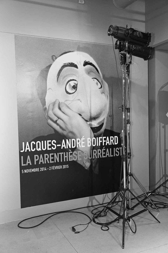 Affiche de l'exposition Jacques-André Boiffard