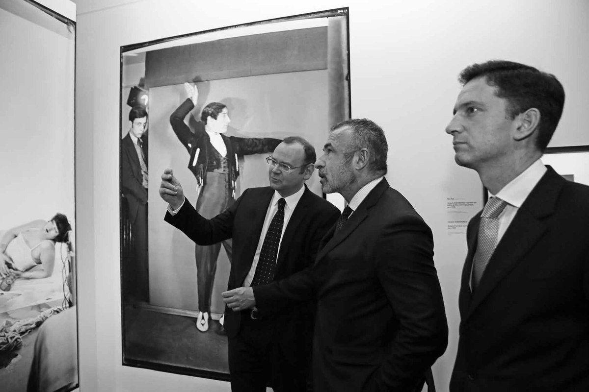 Clément Chéroux, Alain Seban, Xavier Hürstel
