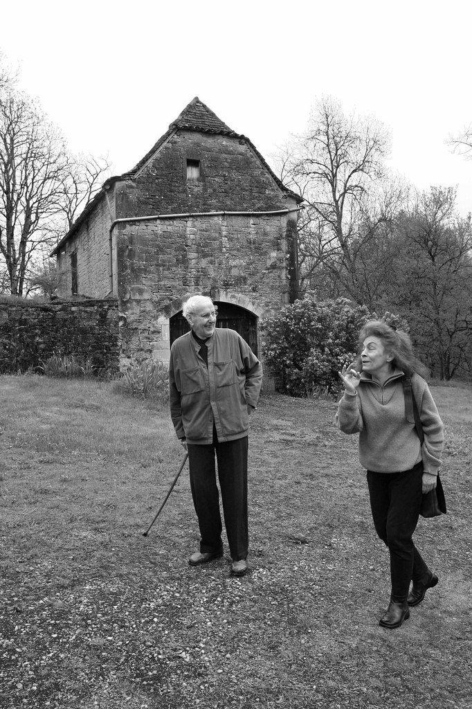 Avec Martine Damas