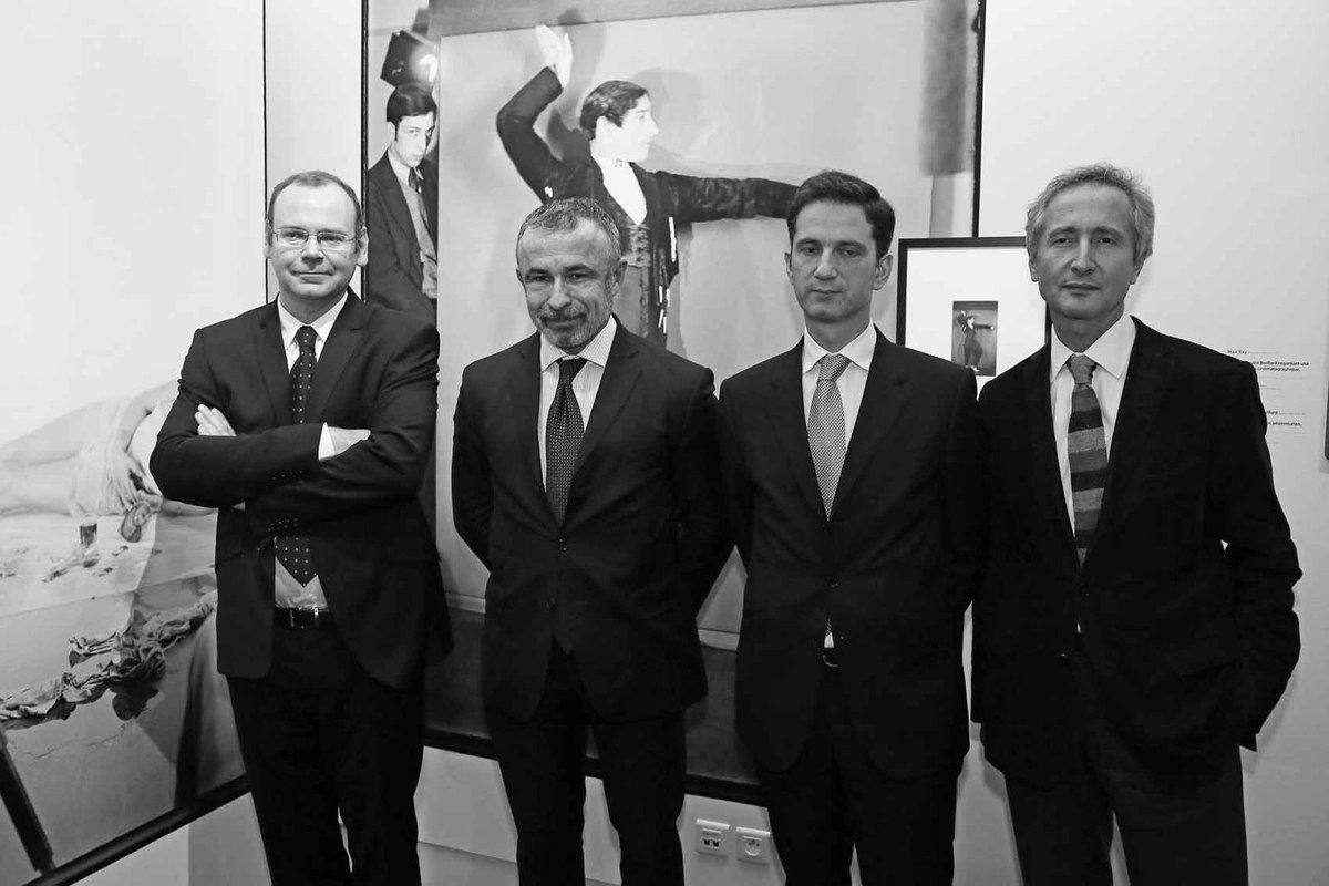 Clément Chéroux, Alain Seban, Xavier Hürstel, Bernard Blistène