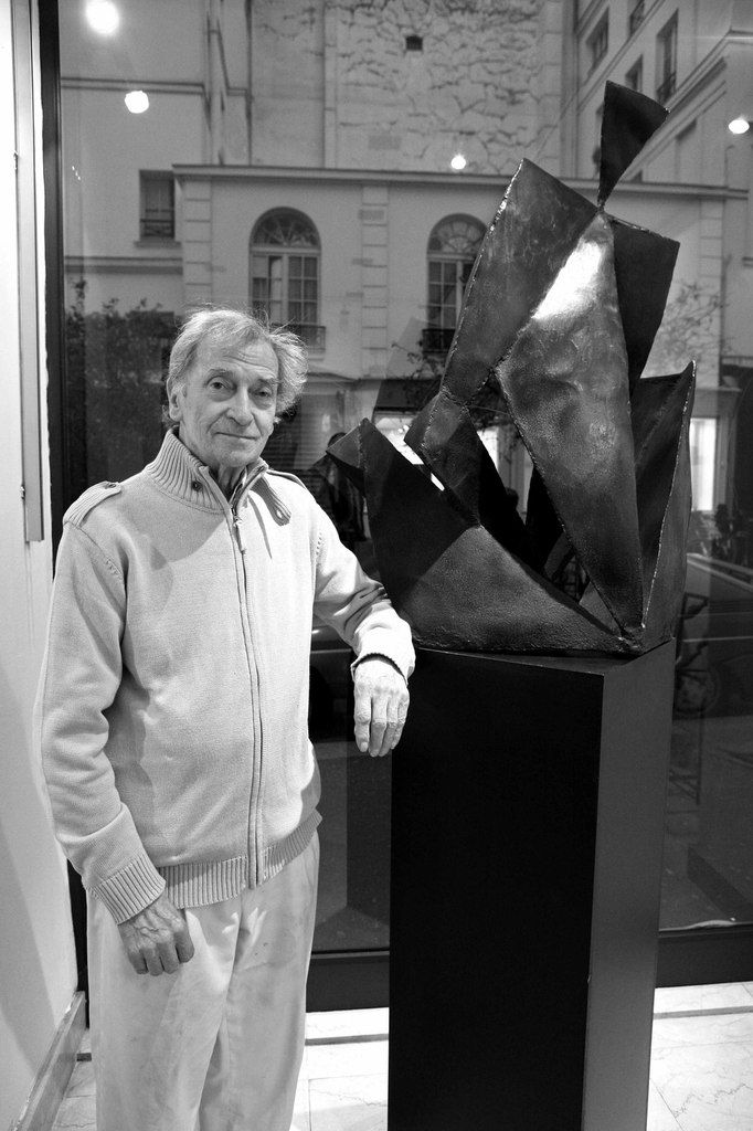 Vernissage de l'exposition Jacques Dufresne (1922-2014). Galerie Landrot. Paris le 25 octobre 2007