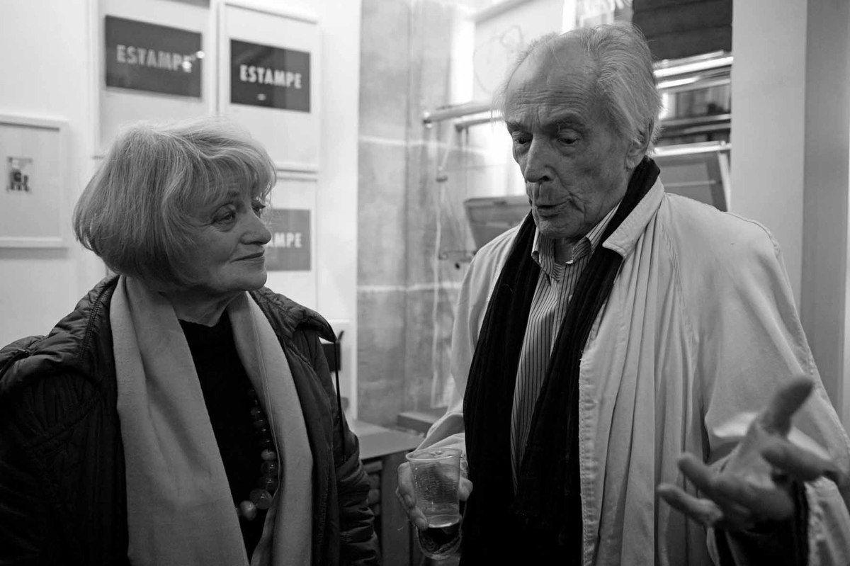 Avec Liliane Vincy. Librairie Mazarine. Paris, le 10 décembre 2009
