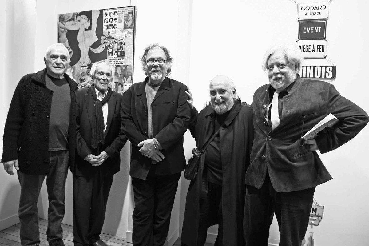 Avec John Giorno, Julien Blaine, Jérôme Rothenberg, Jean-Jacques Lebel. Galerie Meyer Le Bihan. Paris, le 11 mars 2008