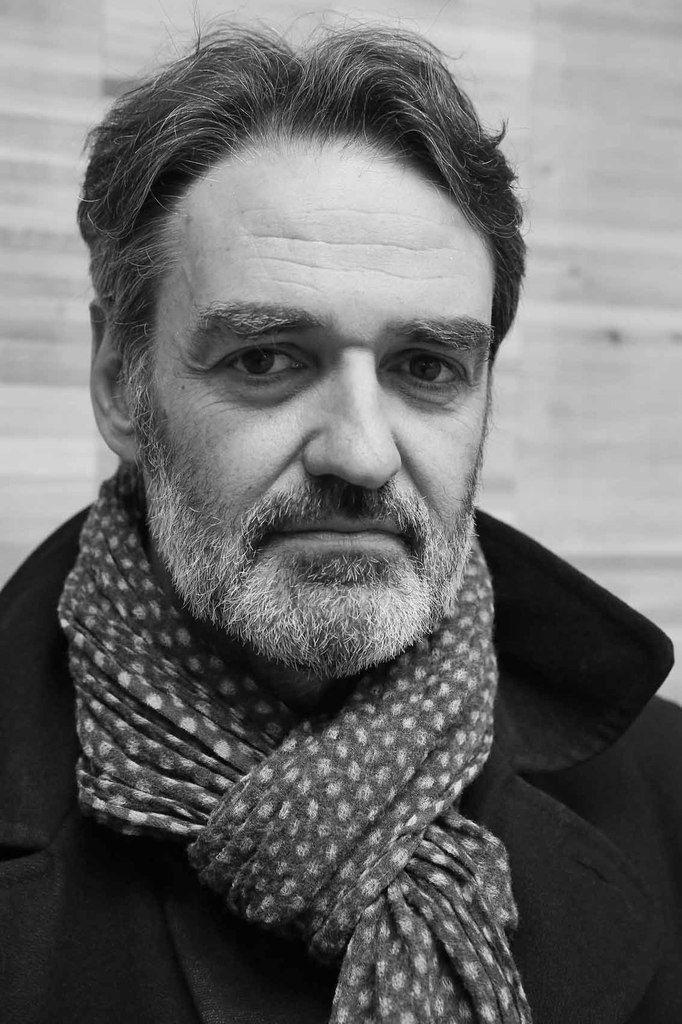 Philippe Dupuy au vernissage du salon Drawing Now. Carreau du Temple. Paris le 25 mars 2014