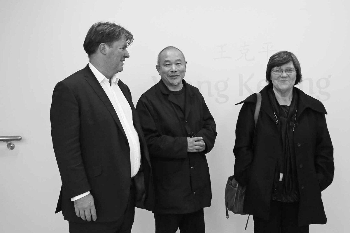 Ben Brown, Wang Keping, Catherine Wang