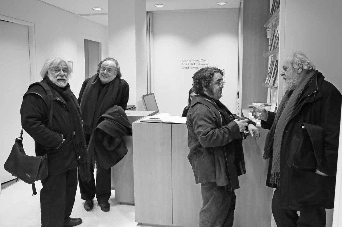 Nissim Merkado, Edouard Valdman, David Aguilella Cueco, Jacques Vallet