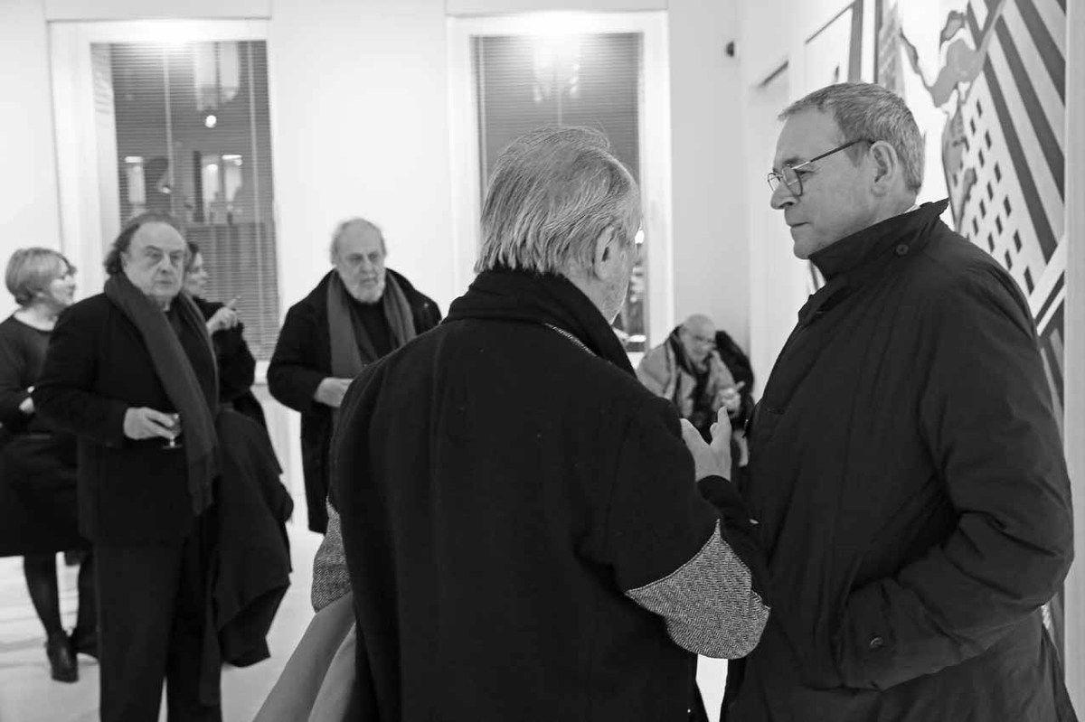Catherine Lhost, Edouard Valdman, Jacques Vallet, Jérôme Clément, Hervé Télémaque, Jean-Jacques Aillagon