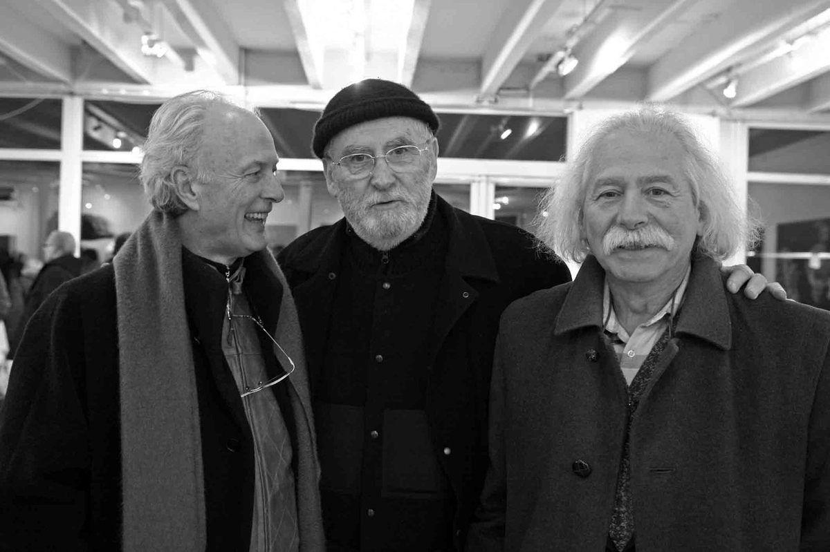 Avec Gérard Le Cloarec et Frédéric Brandon. Galerie Municipale Julio Gonzalez. Arcueil le 9 janvier 2009