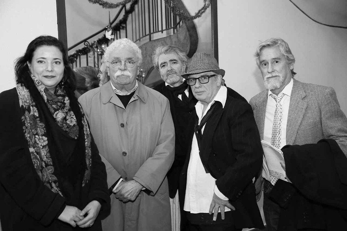 Brenda Hoffman, Mario Gurfein, Ruben Alterio, Ricardo Mosner, Manuel J. Cancel