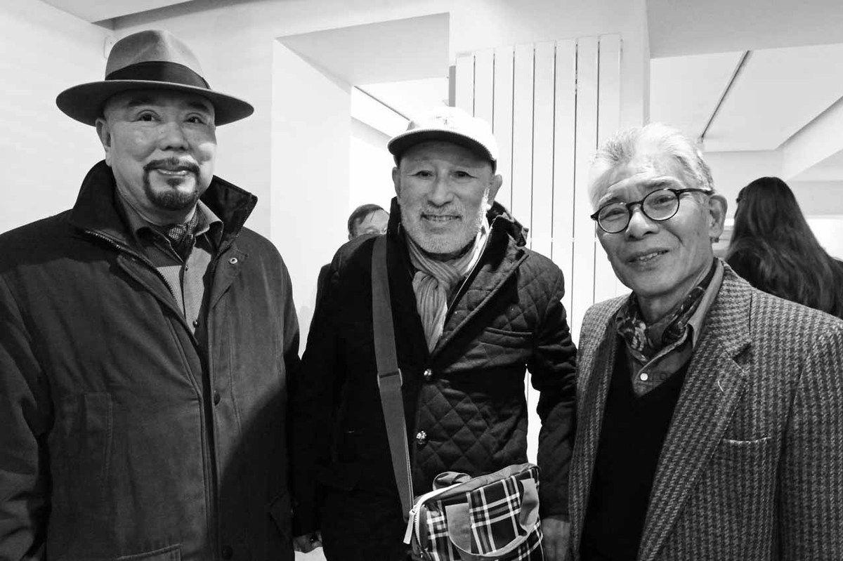 Haruhiko Sunagawa, Naraha Takashi, Matsutani Takesada