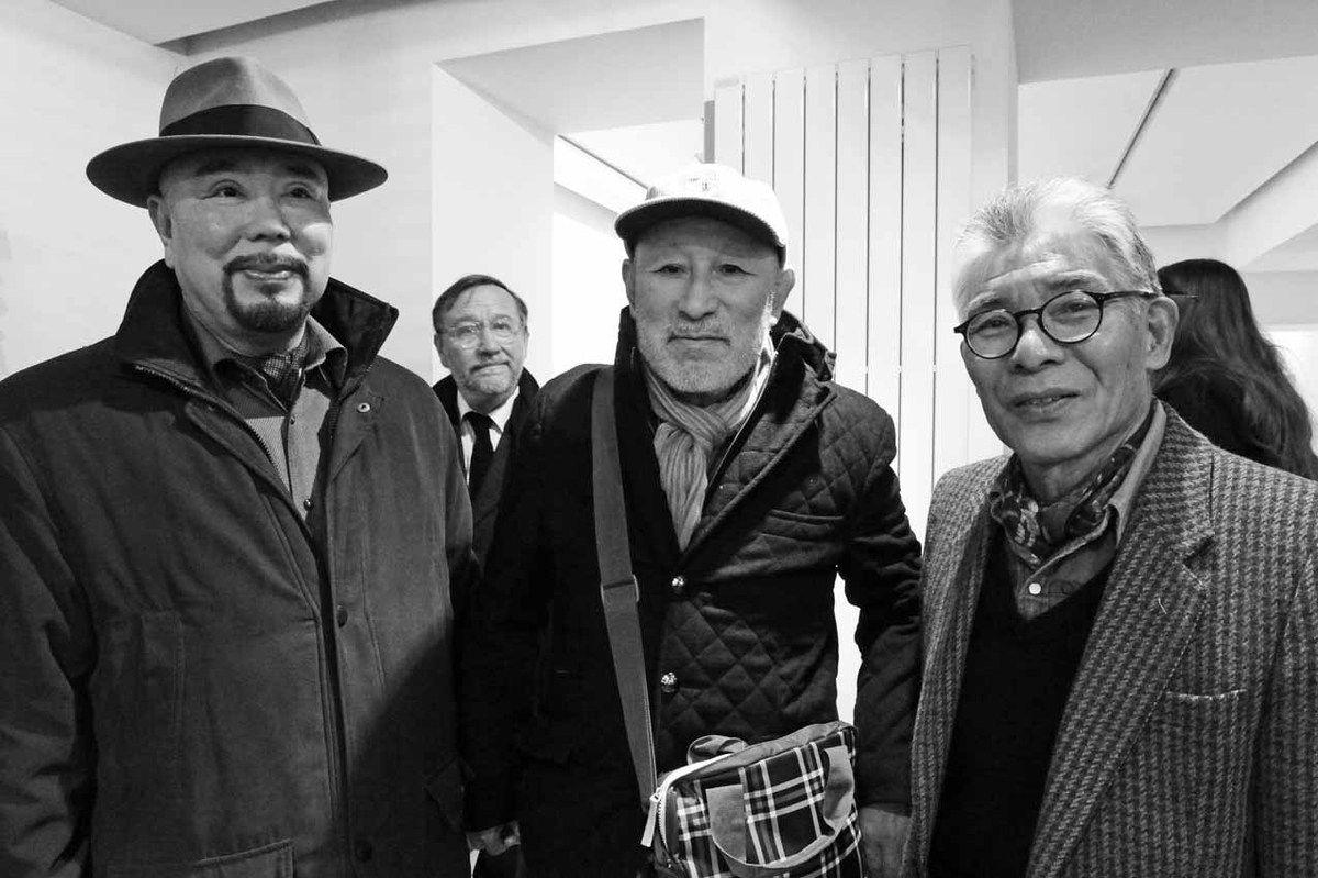 Haruhiko Sunagawa, Serge Lemoine, Naraha Takashi, Matsutani Takesada