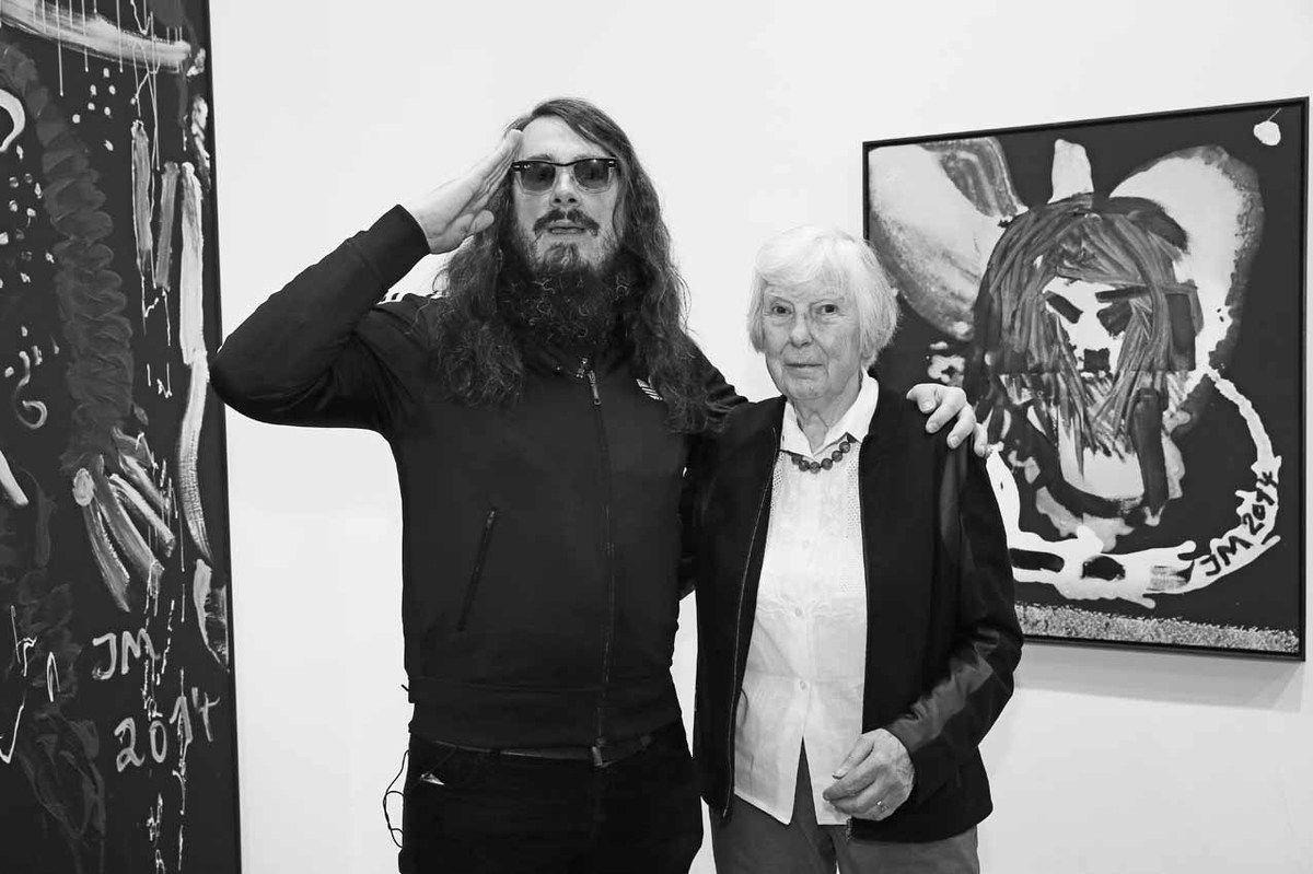 Avec Brigitte Meese