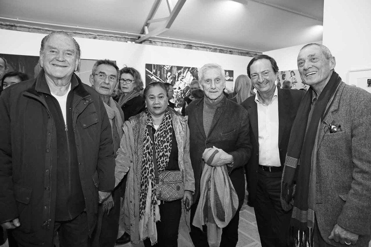 Erro, Gilbert Haas, Vilaï, Vladimir Velickovic, Michel-Édouard Leclerc, Mark Brusse
