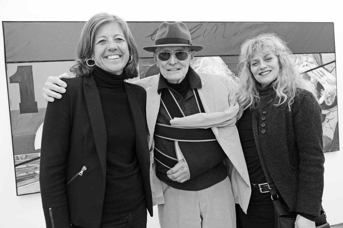 Nathalie Clouard, Jacques Monory, Paule Monory