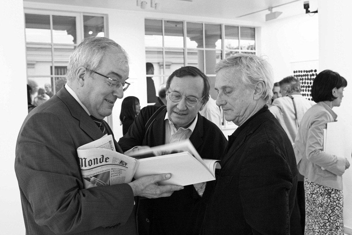 Jean-Michel Raingeard, Serge Lemoine, Vladimir Vélickovic