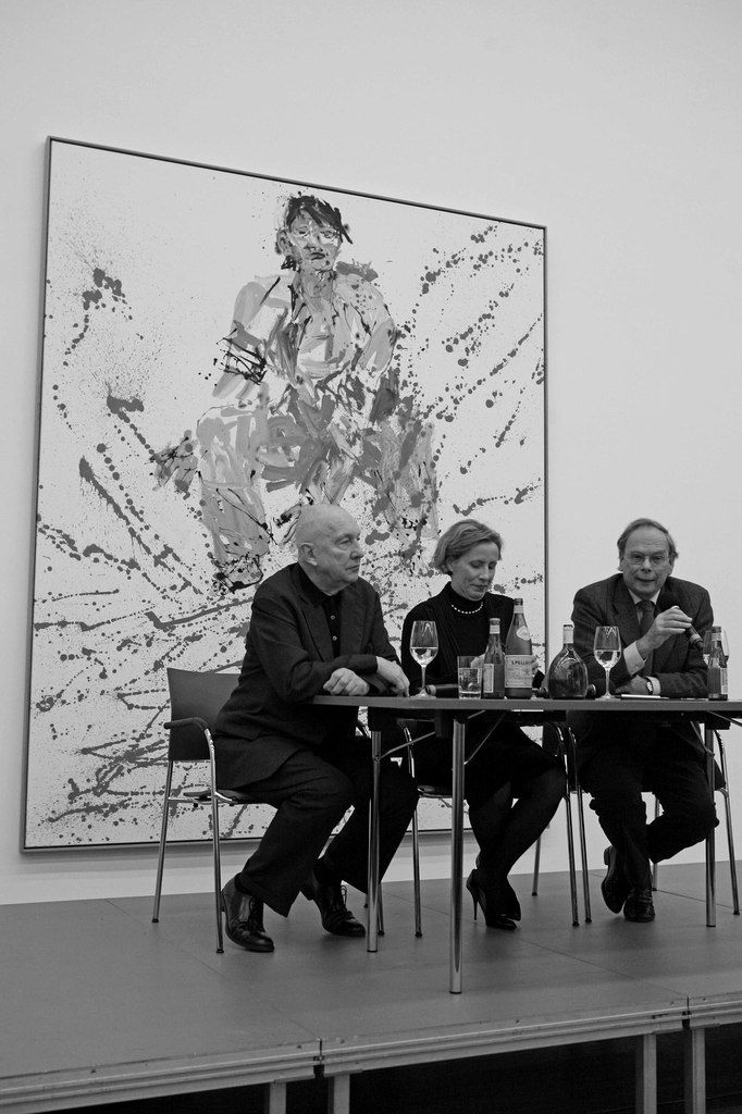 Geörg Baselitz, Karola Kraus, Götz Adriani