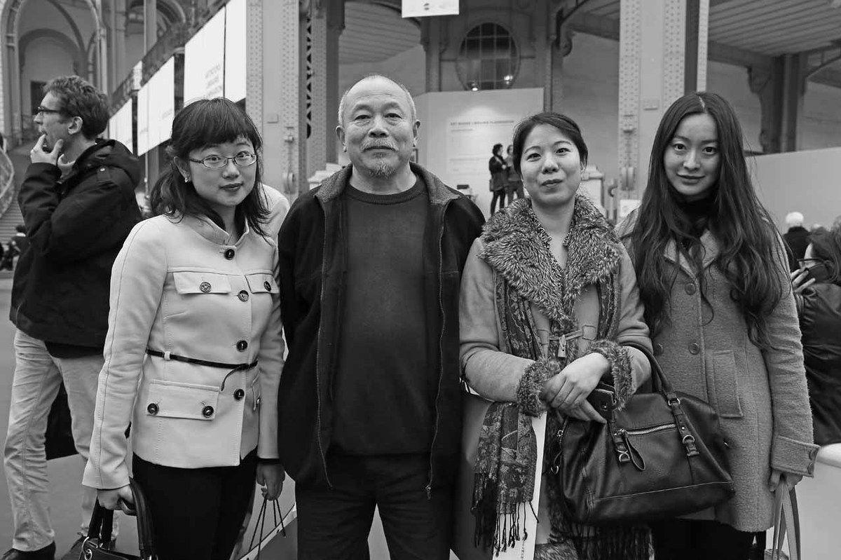 Inconnue, Wang Keping, LingBo Favre, Inconnue