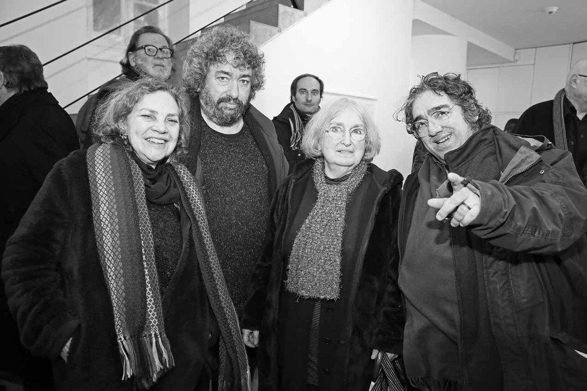 Mirtha Pozzi, Gilles Barré, Pablo Cueco, Marinette Cueco, David Aguilella Cueco