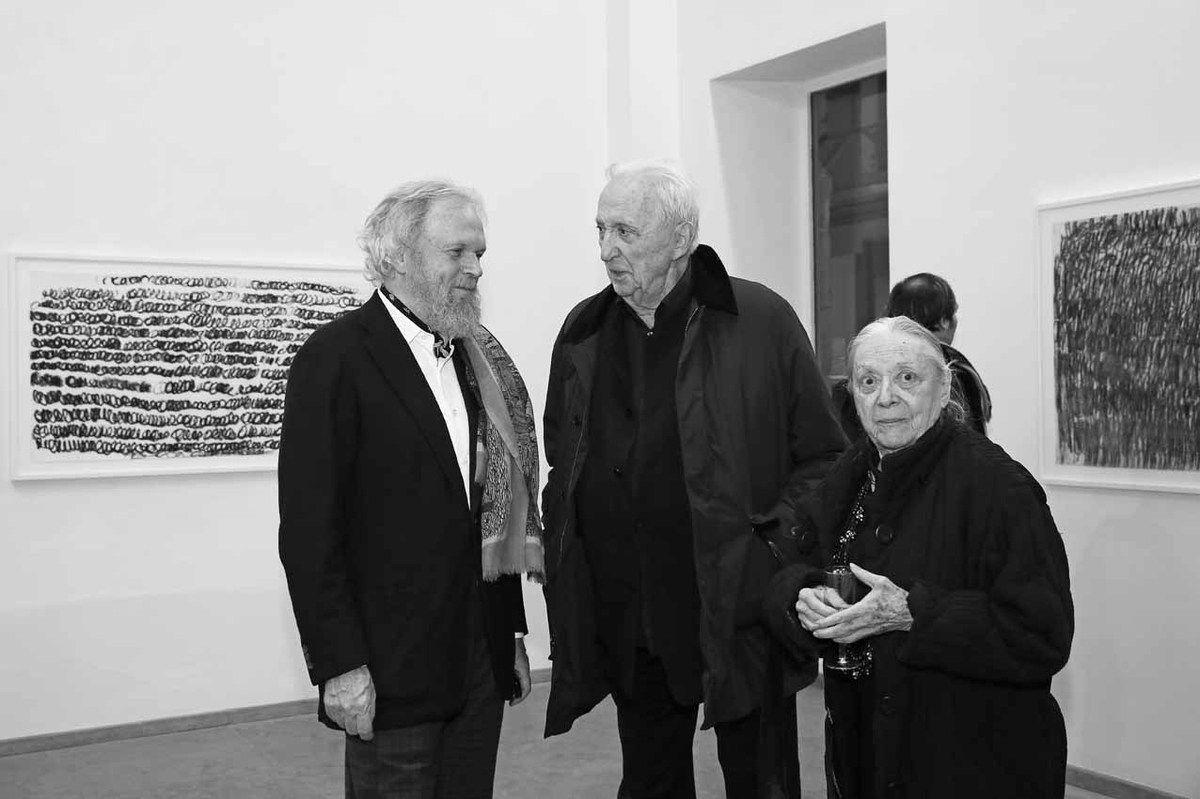 Karsten Greve, Pierre Soulages, Colette Soulages