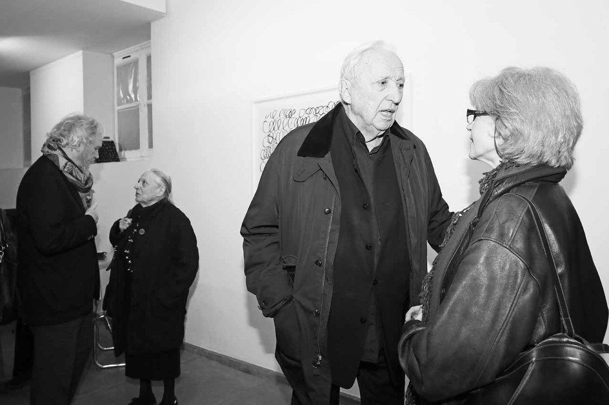 Karsten Greve, Colette Soulages, Pierre Soulages, Tita Reut
