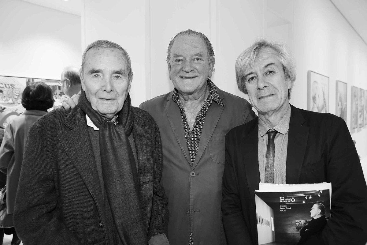 Bob Calle, Erro, Dominique Païni