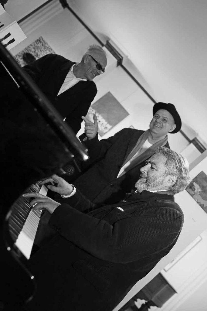 Roberto Plate, Rafael Bueno, Ruben Alterio