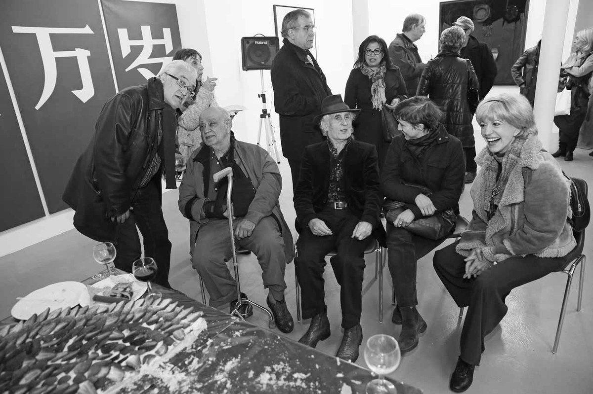 Sylvain Lecombre, Gisèle Toulouzan, Hervé Télémaque, Bernard Rancillac, Eliz Barbosa, Tita Reut