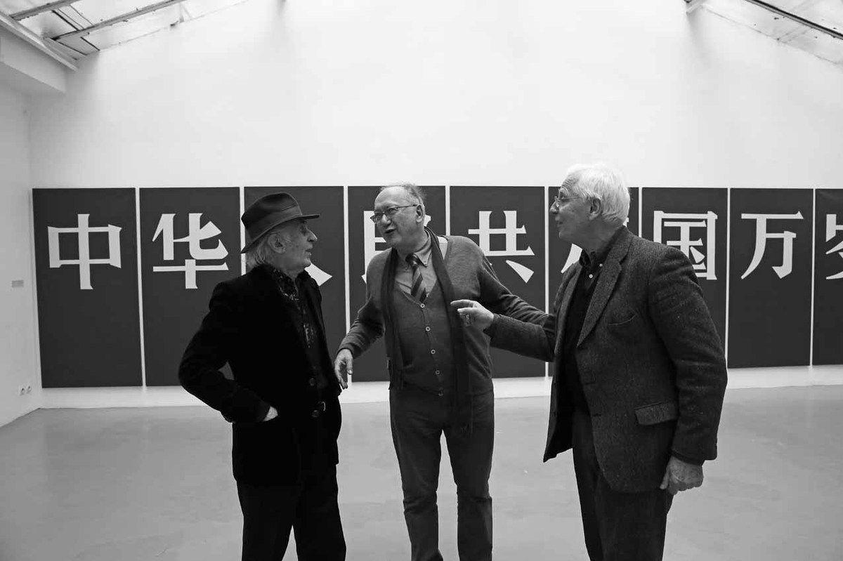 Bernard Rancillac, Jean-Materne Staub, Jean Brolly