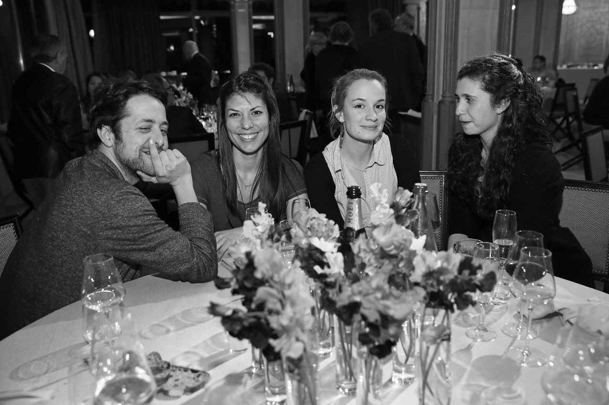 Loïc Bénétière, Roxanne Ruiz, Diane Dormet, Cécila Charbit