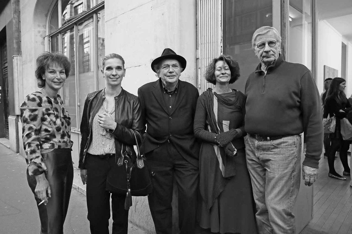 Véronique Forneri, Magali Harmange, Jacques Demarcq, Rachel Stella, Louis Cane