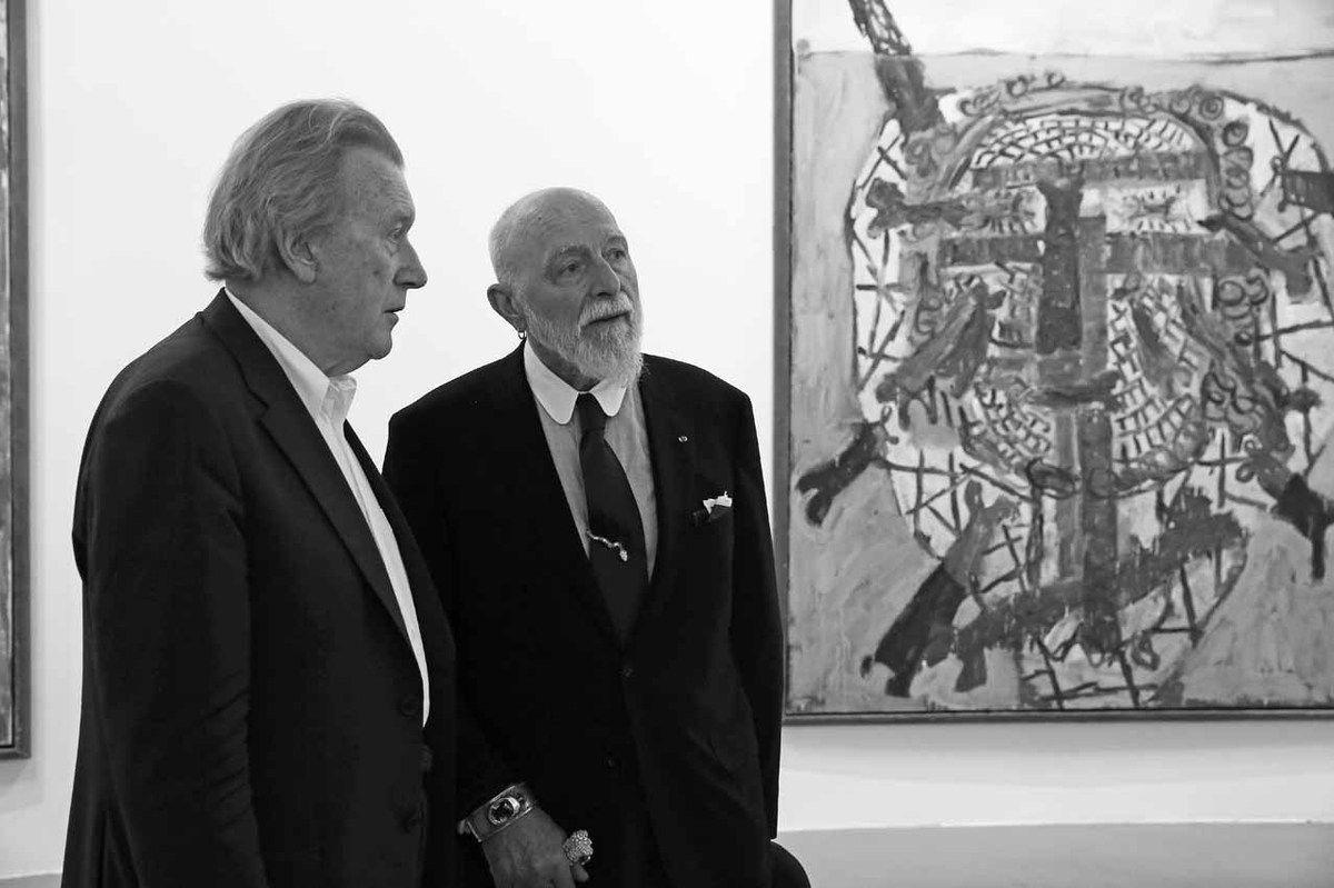Michael Werner, Markus Lüpertz
