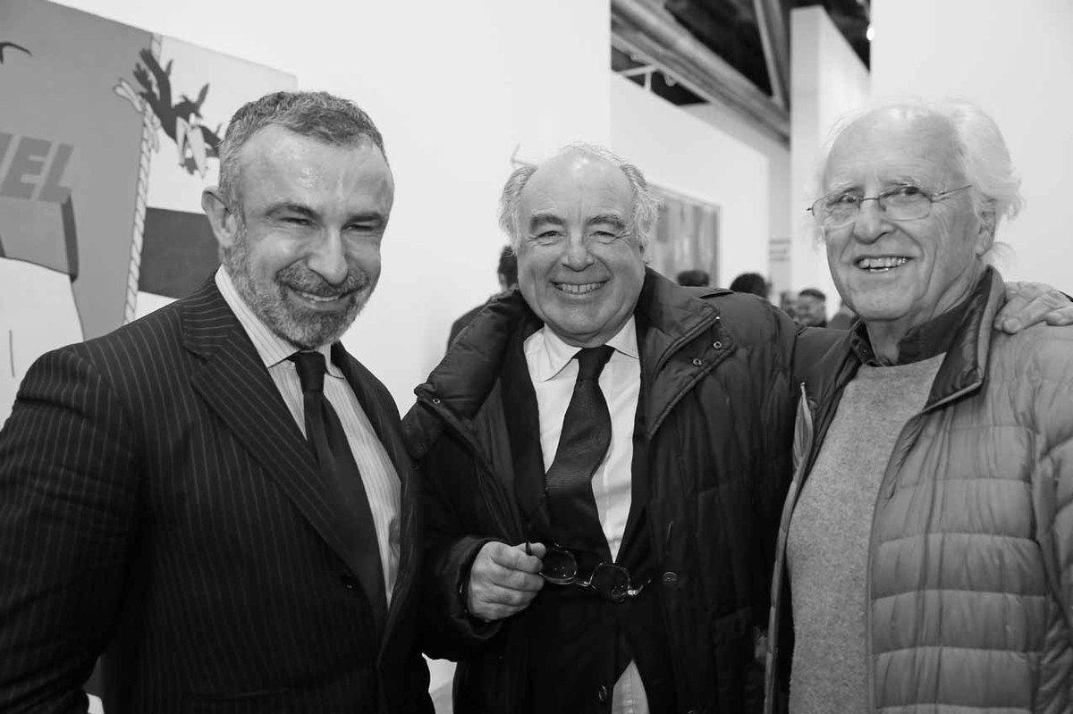 Alain Seban, Henri Jobbé-Duval, Gérard Fromanger