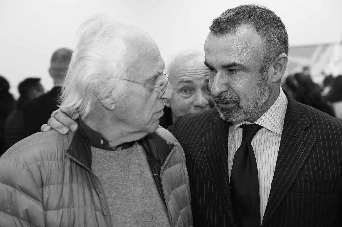 Gérard Fromanger, André Morain, Alain Seban