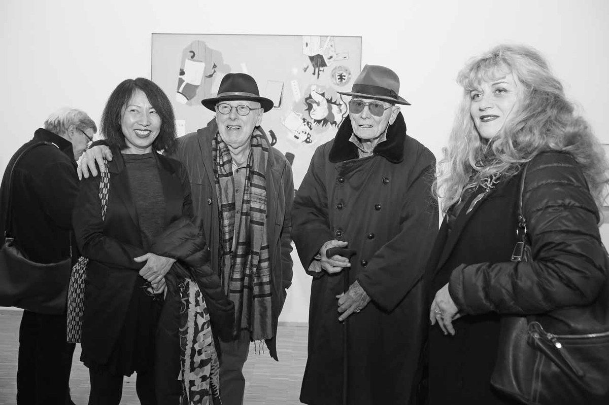 Sae-Jung Kim, Jan Voss, Jacques Monory, Paule Monory