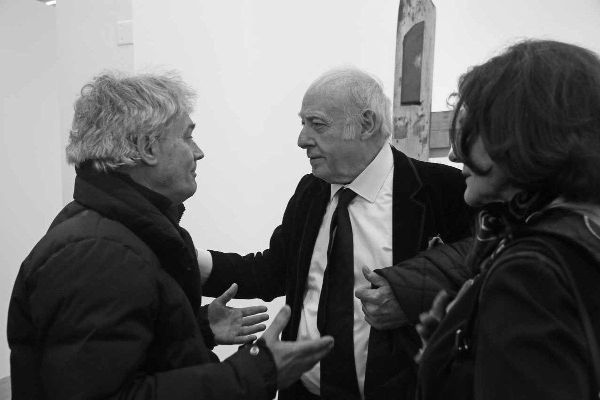 Bernard Moninot, Eduardo Arroyo, Isabelle Arroyo