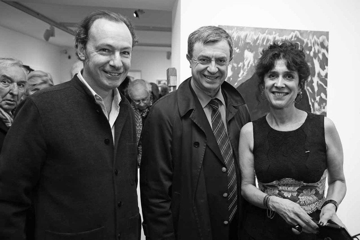 Jean Clair, Guy de Malherbe, Jean-Pierre Lecoq, Marie-Hélène de La Forest Divonne
