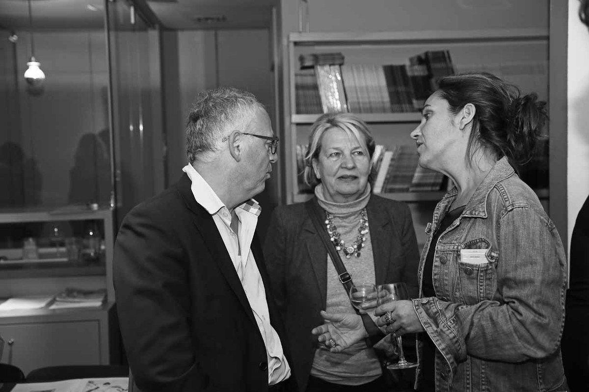 Philippe Hardouin, Simone Damotte, Emmanuelle Renard