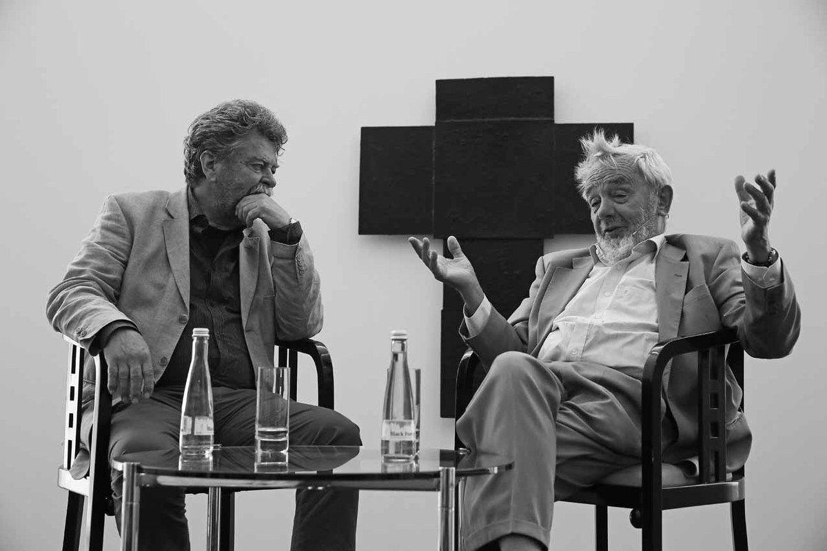 Helmut Friedel, Arnulf Rainer